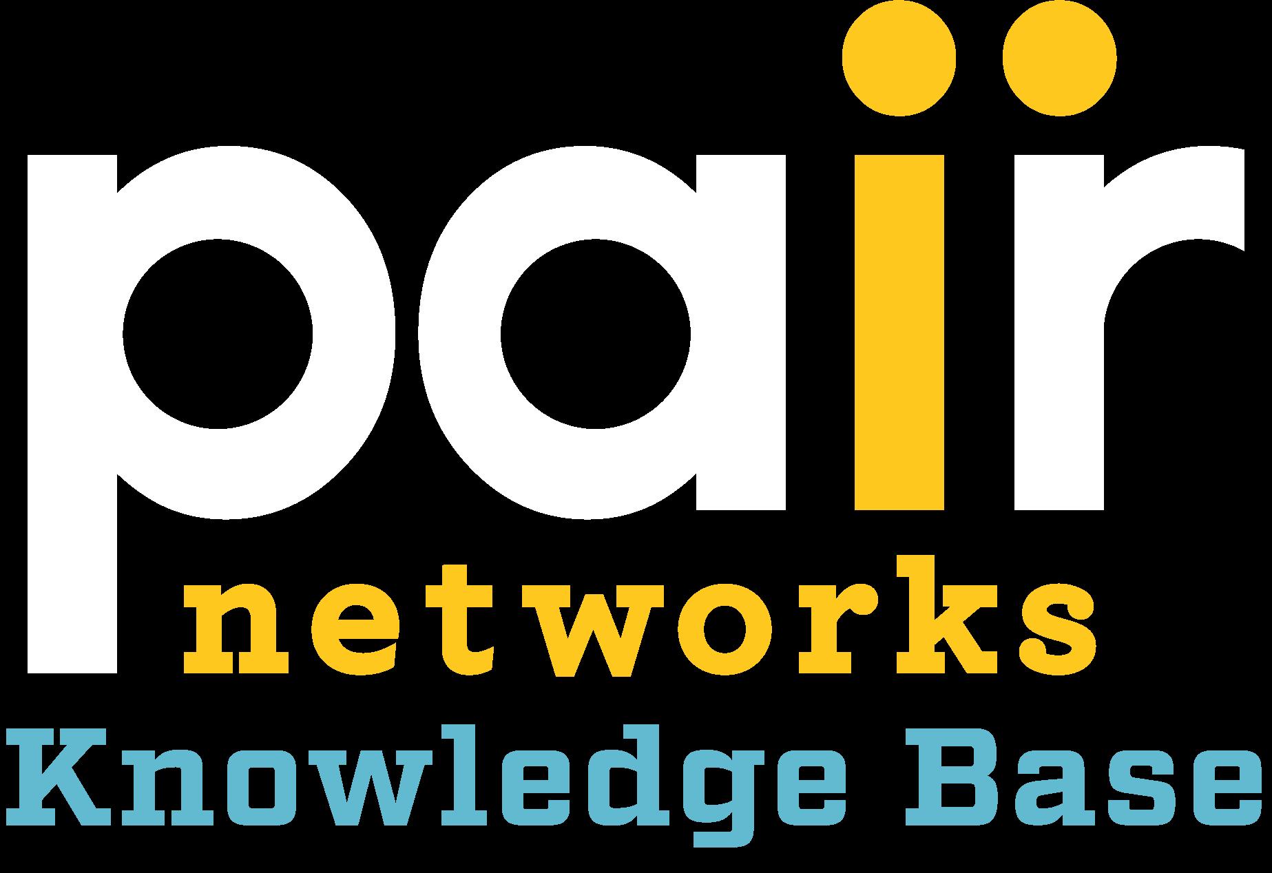 pair Networks KnowledgeBase