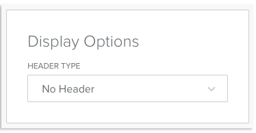 display options image