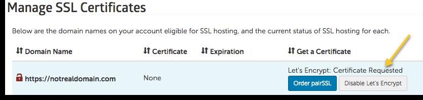 certificate request image