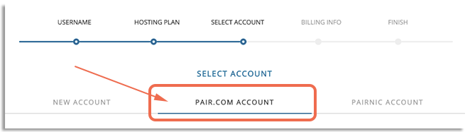 Image of pair.com selection