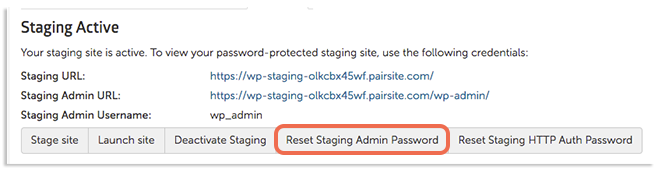 reset staging admin password image