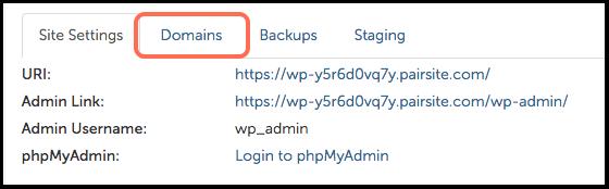 domain tab image