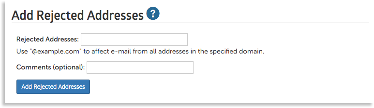 add rejected addresses image