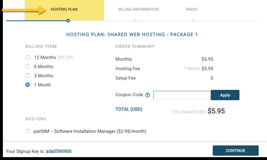 hosting plan image