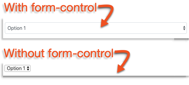 form control image