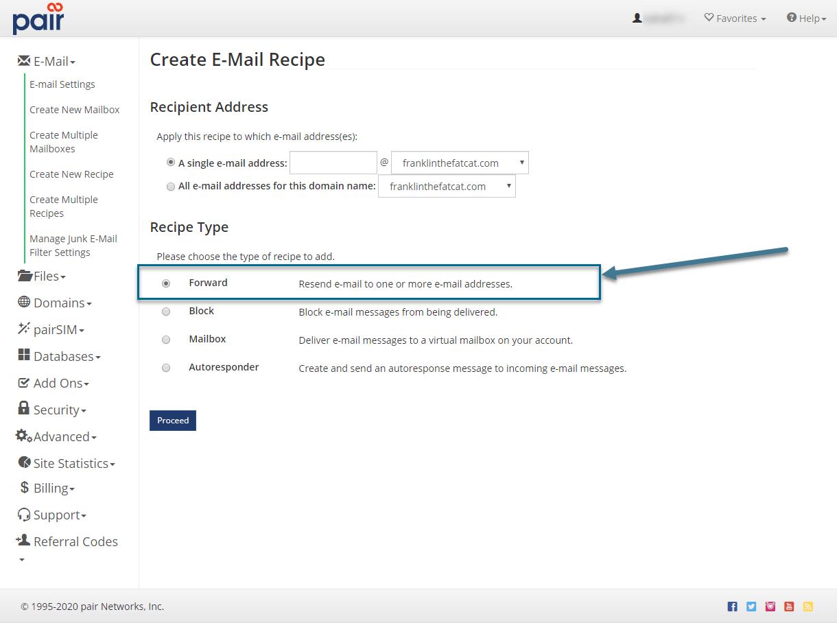 forward option image