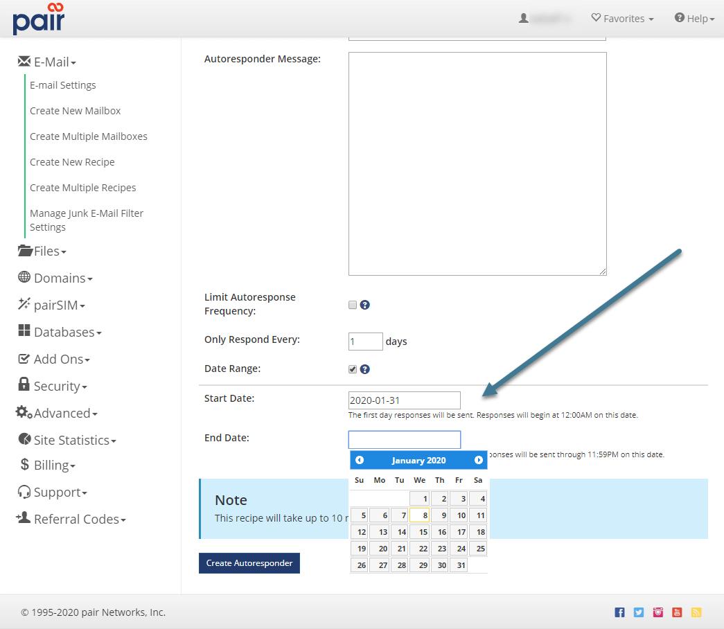set date image