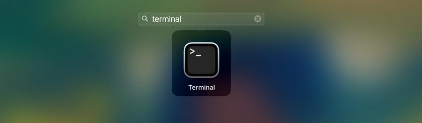 terminal image