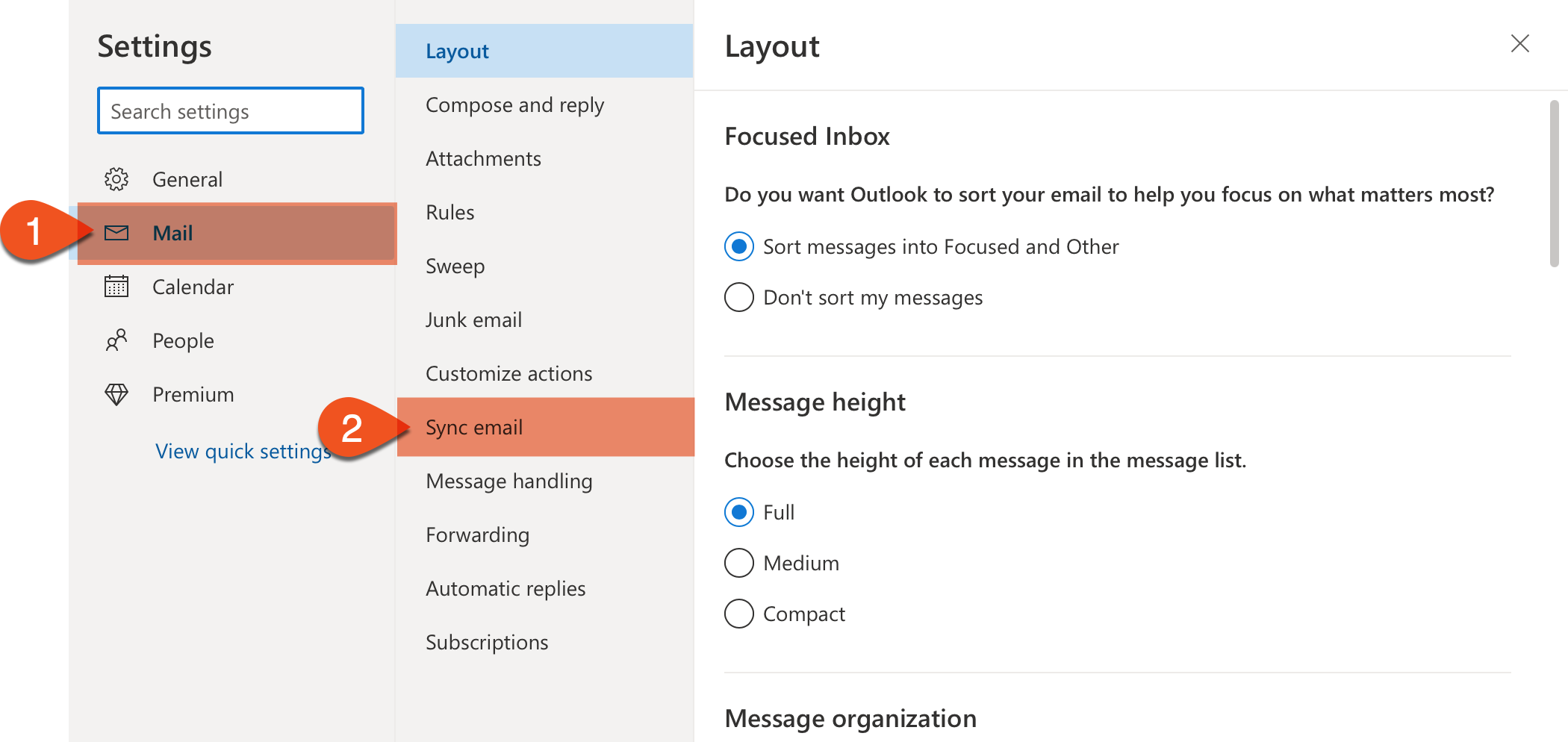 mail and sync mail image