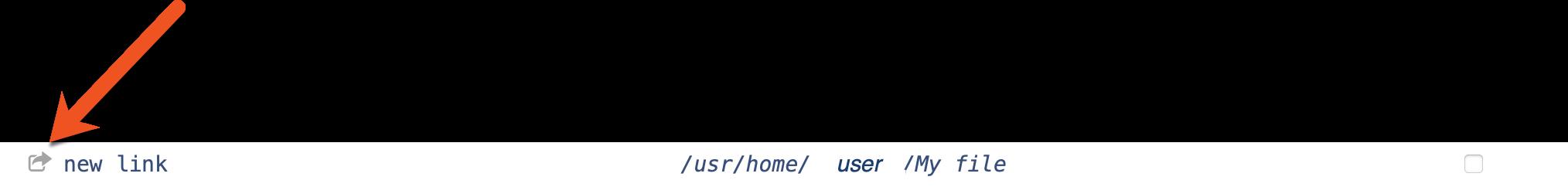 symlink icon image